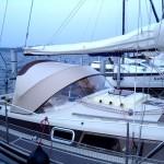 Sprayhood Segelboot