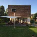 Sonnensegel Haus