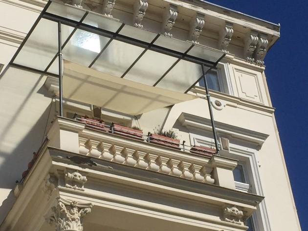 Sonnensegel Balkon