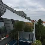 Sonnensegel Dachterrasse 2