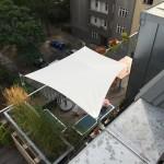 Sonnensegel Dachterrasse